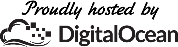 Proudly hosted on Digital Ocean